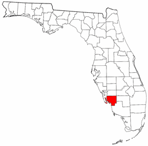 Image:Map of Florida highlighting Lee County.png