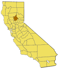 Image:California map showing Butte County.png