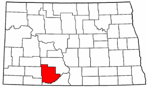 Image:Map of North Dakota highlighting Grant County.png