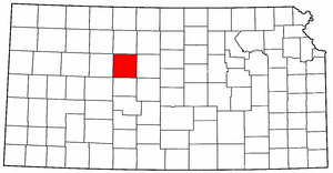 Image:Map of Kansas highlighting Ellis County.png