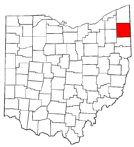Image:Map of Ohio highlighting Trumbull County.png