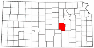 Image:Map of Kansas highlighting Marion County.png