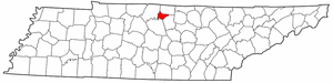 Image:Map of Tennessee highlighting Trousdale County.png