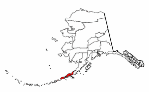 Image:Map of Alaska highlighting Aleutians East Borough.png