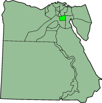 Egypt, with Cairo  highlighted.