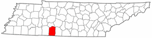 Image:Map of Tennessee highlighting Lawrence County.png