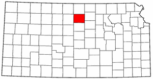 Image:Map of Kansas highlighting Mitchell County.png