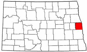 Image:Map of North Dakota highlighting Traill County.png