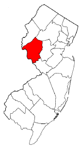 Image:Map of New Jersey highlighting Hunterdon County.png
