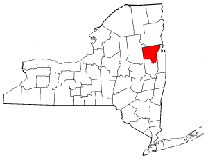 Image:Map of New York highlighting Warren County.png
