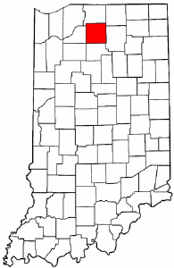 Image:Map of Indiana highlighting Marshall County.png