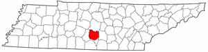 Image:Map of Tennessee highlighting Bedford County.png