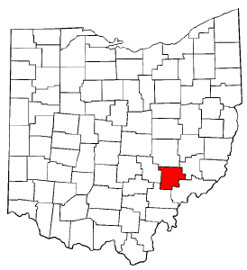 Image:Map of Ohio highlighting Morgan County.png