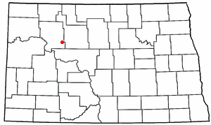 Location of Palaza, North Dakota