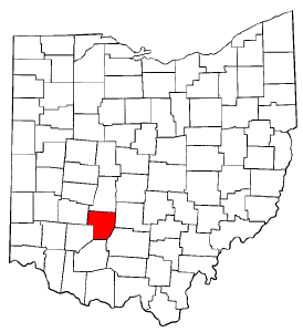 Image:Map of Ohio highlighting Fayette County.png