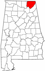 Image:Map of Alabama highlighting Jackson County.png