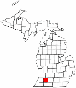 Image:Map of Michigan highlighting Kalamazoo County.png