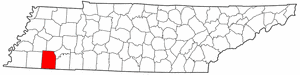 Image:Map of Tennessee highlighting Hardeman County.png