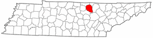 Image:Map of Tennessee highlighting Overton County.png