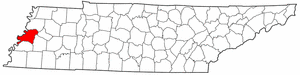Image:Map of Tennessee highlighting Lauderdale County.png