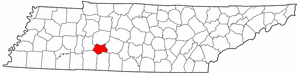 Image:Map of Tennessee highlighting Lewis County.png
