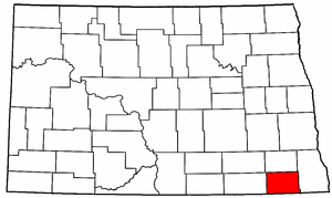 Image:Map of North Dakota highlighting Sargent County.png