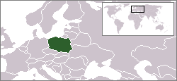 Location of Polska