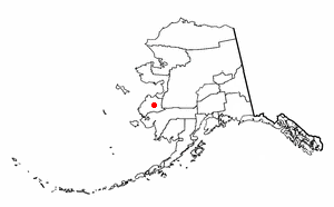 Location of Pitkas Point, Alaska