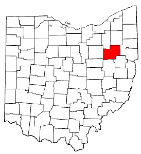 Image:Map of Ohio highlighting Stark County.png