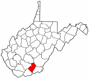 Image:Map of West Virginia highlighting Summers County.png