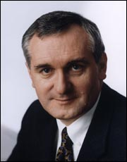 Bertie Ahern, TD, has lead Fianna Fáil since 1994 and has served as Taoiseach since 1997.