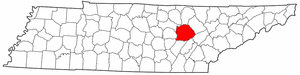 Image:Map of Tennessee highlighting Cumberland County.png