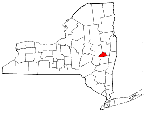 Image:Map of New York highlighting Schenectady County.png
