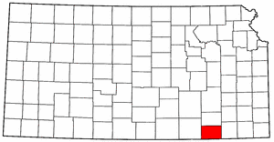 Image:Map of Kansas highlighting Chautauqua County.png