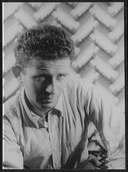 Norman Mailer, photographed by , 1948