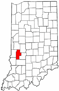 Image:Map of Indiana highlighting Clay County.png