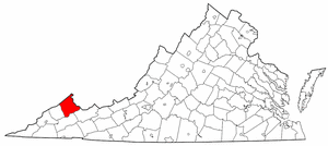 Image:Map of Virginia highlighting Buchanan County.png