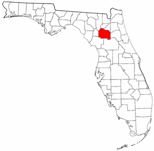 Image:Map of Florida highlighting Alachua County.png