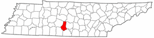 Image:Map of Tennessee highlighting Marshall County.png