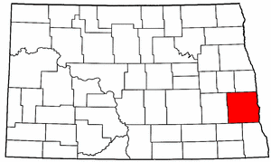 Image:Map of North Dakota highlighting Cass County.png