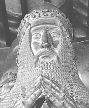 Effigy on the Black Prince's tomb in