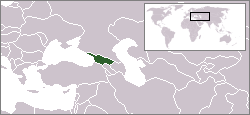 Location of Georgia
