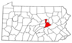 Image:Map of Pennsylvania highlighting Northumberland County.png