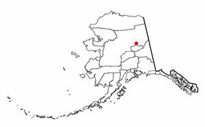 Location of Central, Alaska