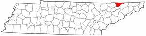 Image:Map of Tennessee highlighting Hancock County.png
