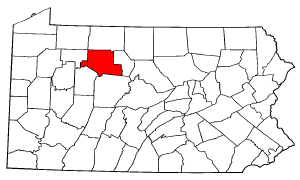 Image:Map of Pennsylvania highlighting Elk County.png