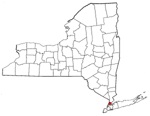 Image:Map of New York highlighting Bronx County.png