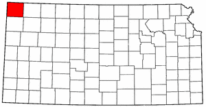 Image:Map of Kansas highlighting Cheyenne County.png