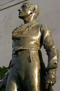 Statue of Robert Emmet; photo courtesy Paul Huang.