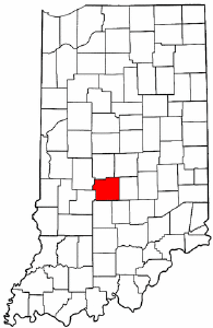 Image:Map of Indiana highlighting Morgan County.png
